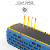 NEW EST63 solar bluetooth speaker IPX5 waterproof with over 30 minutes music play by 10 minutes solar charge