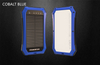 ES986 10000mAh Solar power bank with LED camping light